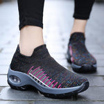 Women's Lightweight Flying Woven Cushion Running Shoes