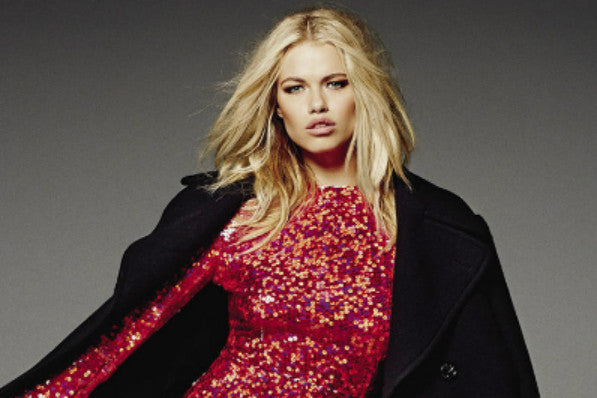 Hailey Clauson Amps Up the Glitz n Glam
