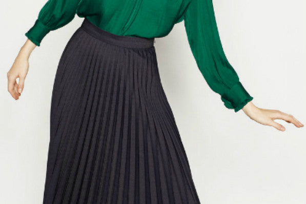 Pleated Dress and Skirt Finds