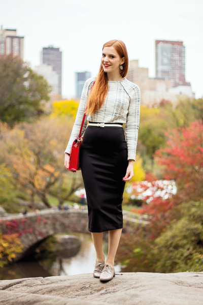 Modest Black Skirt
