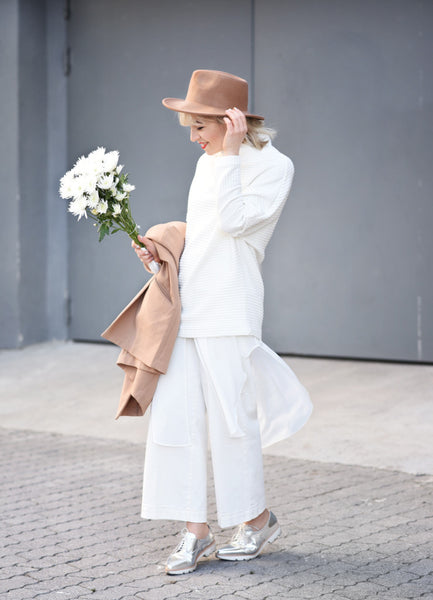 Modest in White