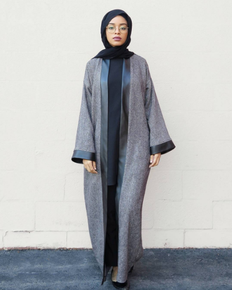 Modest in Black and Gray