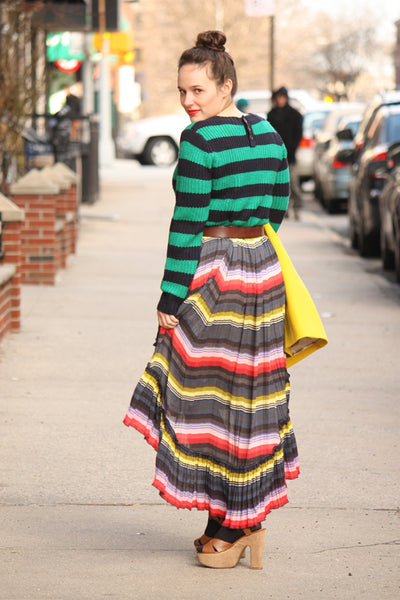 Modest in Stripes