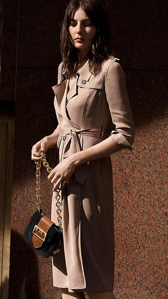 Burberry Ramadan 2016 modest collection silk pink trench coat