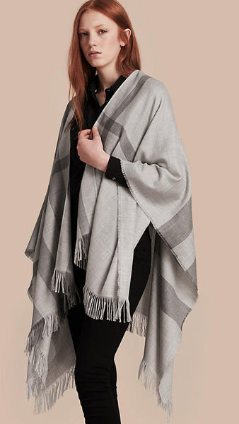 Modest Gray Scarf
