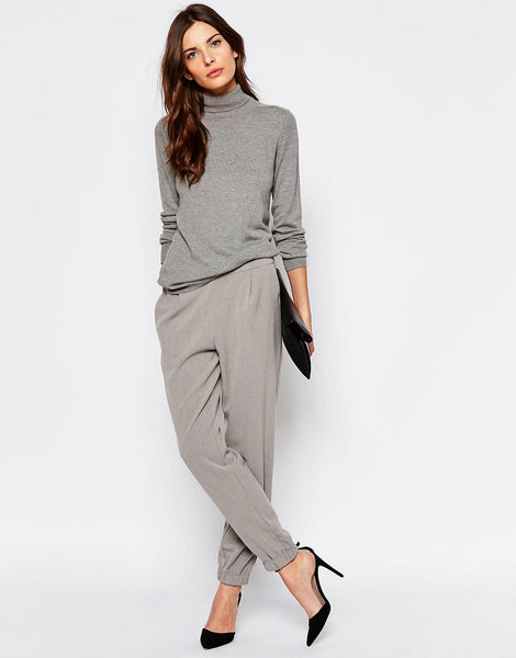 Modest Gray Pants