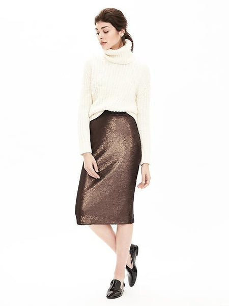 Modest Sequin Skirt