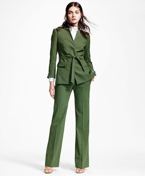 Modest Green Pants and Jacket