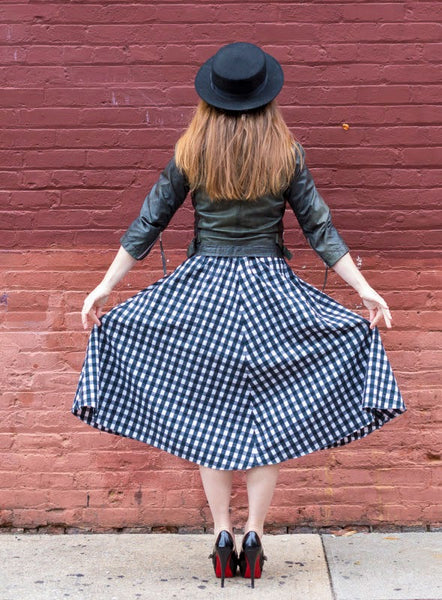 Modest Gingham Look
