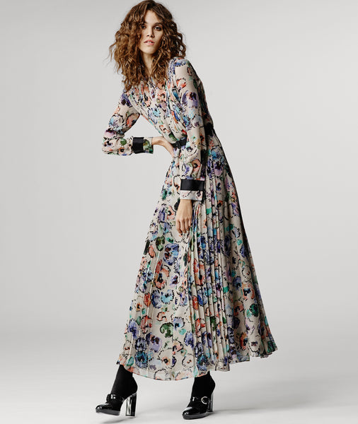Modest Printed Dress