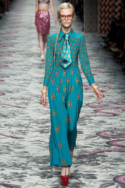 Gucci Maxi Dress with Tie