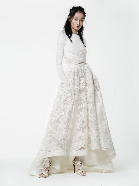 Modest Bridal Skirt