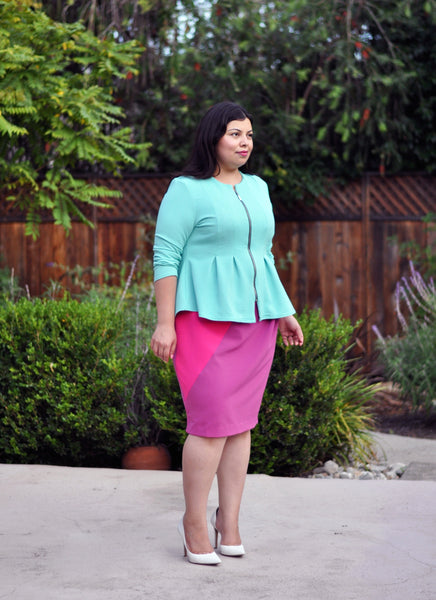 Modest Plus Size Outfit