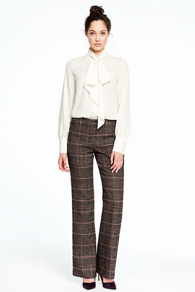 Modest Plaid Pants