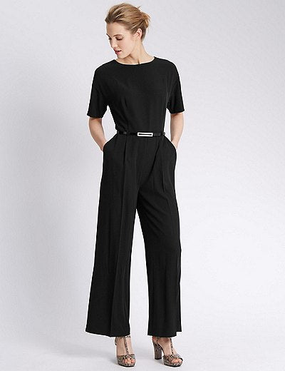 Modest Black Jumpsuit