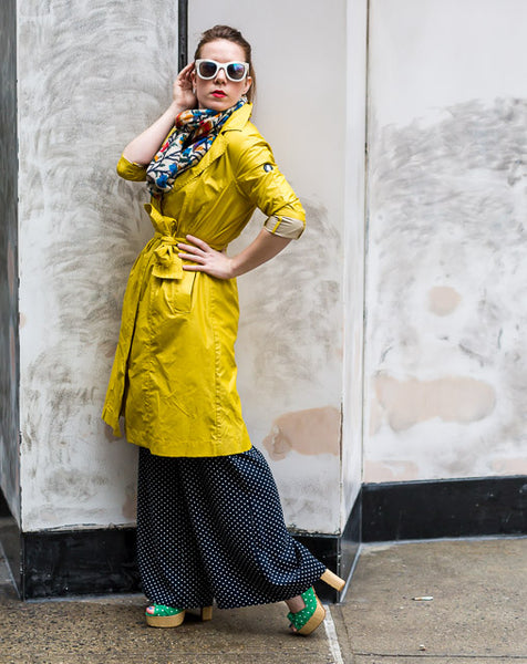 Modest in Yellow