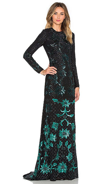 Modest Long Sleeve Gown