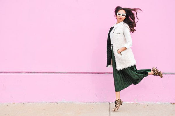 Modest Emerald Midi Skirt