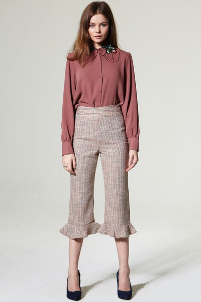 Modest Ruffled Trousers