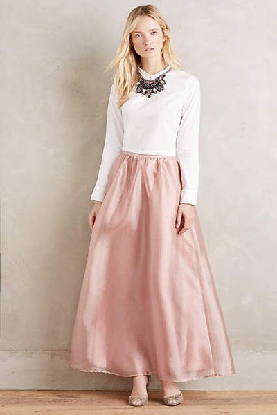 Modest Blush Ball Skirt