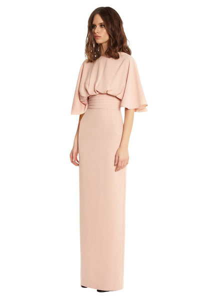 Modest Blush Maxi Dress
