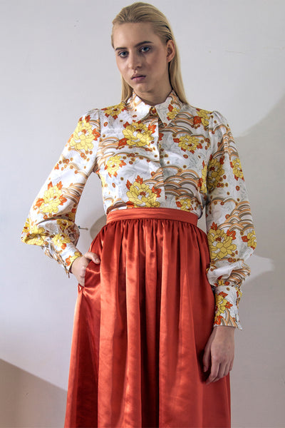 Modest Garden of Eden Blouse