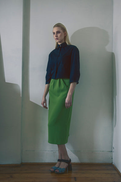Modest Midi Pocket Skirt