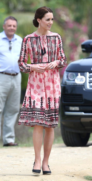 Modest Kate Middleton