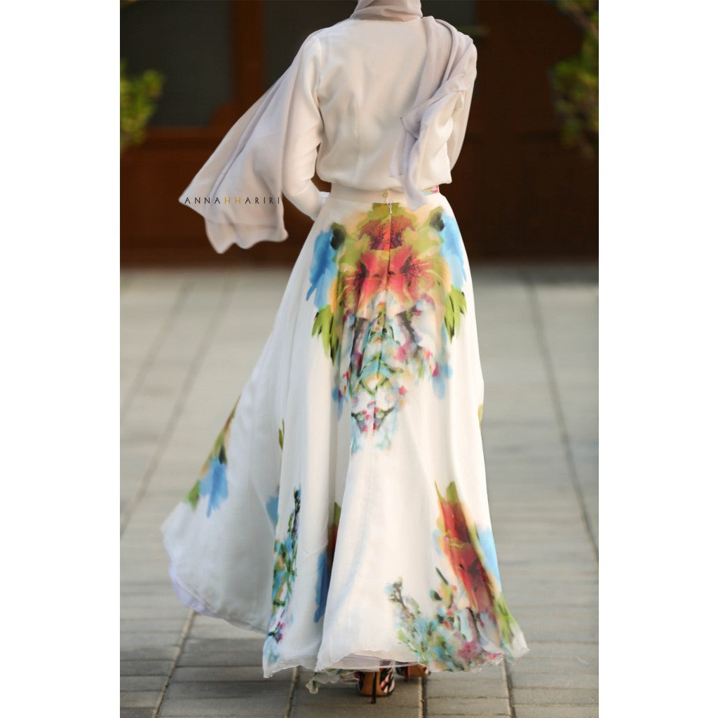 Modest Long Maxi Skirt Full Length Stylish Trendy Fashion