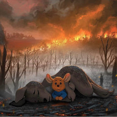 Australia is burning and every little bit counts.