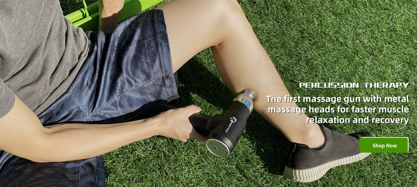 massage gun for muscle relaxation