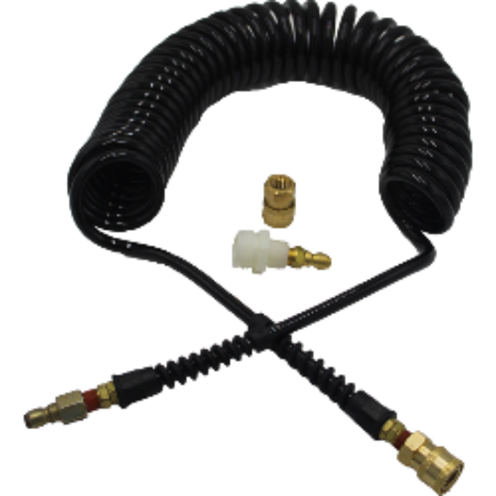 25' Coil Hose Extension Kit