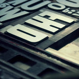 Meet the Press: Offset and Letterpress