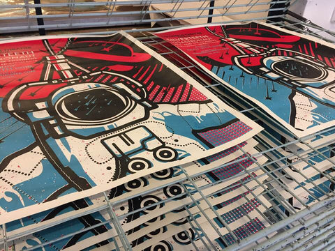 Intermediate Silkscreen: Multi-Color Registration