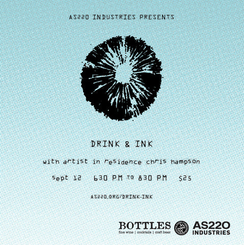 AS220 Industries presents: Drink + Ink September 2019