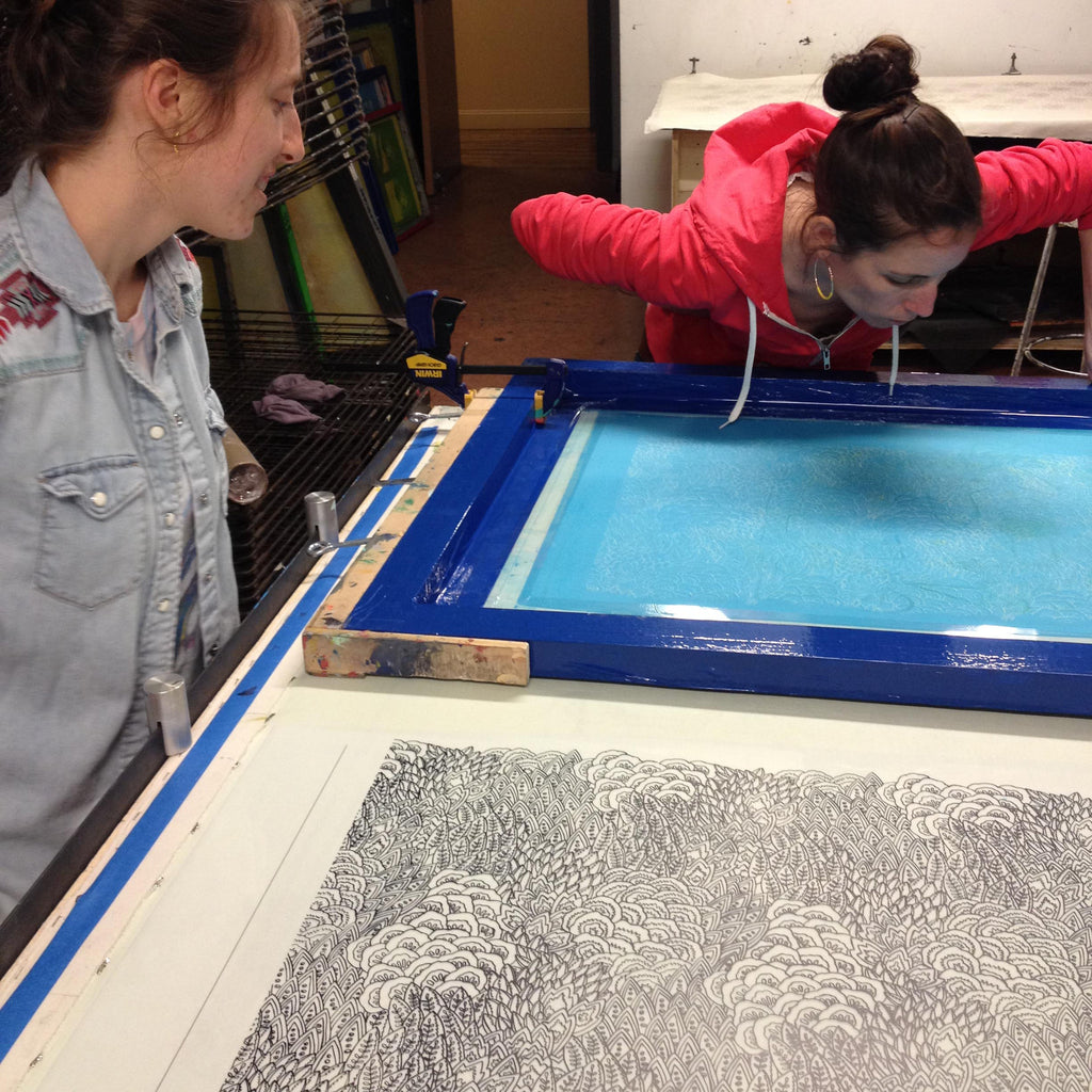 Intermediate Silkscreen: Repeating Patterns @ AS220 Printshop | Providence | Rhode Island | United States