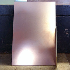 "4"" x 6"" FR1 copper coated phenolic paper board"