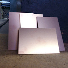 "3"" x 2"" FR1 copper coated phenolic paper board"