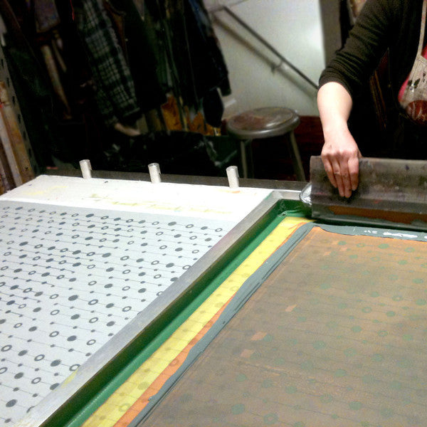 Intermediate Silkscreen: Repeat Printing Demo @ AS220 Printshop