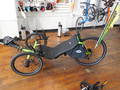 Recumbent trike - Expedition (CaTrike)