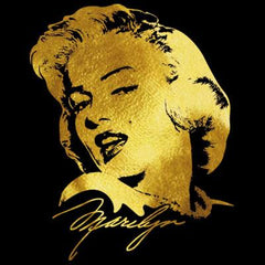 Marilyn Monroe Gold Foil T-Shirt