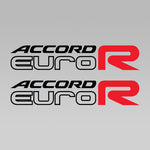 Accord Euro R Replica Decal 1 Pair Set