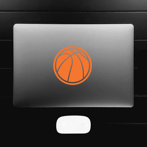 Basketball Silhouette Decal Sticker