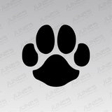 Dog Paw Print Iron-On Transfer (Matte)