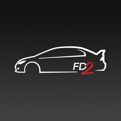 FD2 JDM Honda Civic Type R Inspired T-Shirt