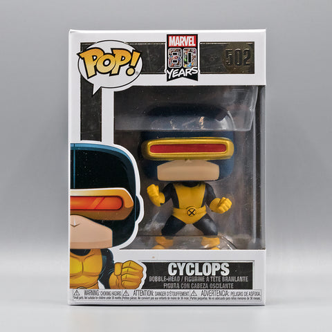 Funko Pop! Marvels Xmen 80th Cyclops #502
