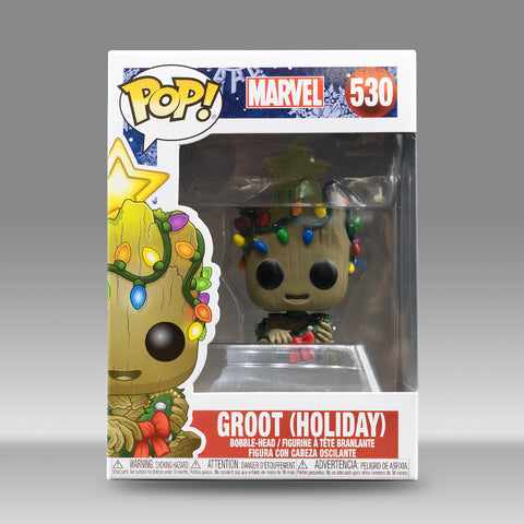 Funko Pop! Marvel Holiday Baby Groot #530