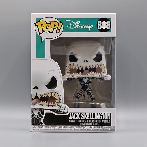 Funko Pop! The Nightmare Before Christmas Jack Skellington Scary Face #808