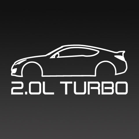 2.0L Turbo Hyundai Genesis Coupe Inspired T-Shirt