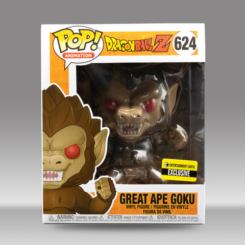 Funko Pop! 6in Tall Dragon Ball Great Ape Goku